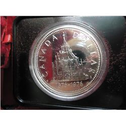 1976 CANADA PARLAMENT $ .3750 OZ. ASW PROOF