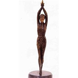 """Starfish Dancers"" Bronze Sculpture - Chiparus"