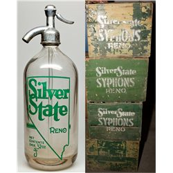 Silver State Seltzer Group NV - Reno,Washoe County - c1930 - 2012aug - Nevada Bottles