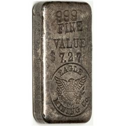 Eagle Mining Company Ingot c1960 - 2012aug - Numismatic