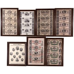 Framed Currency Collection 2012aug - Numismatic