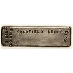 Goldfield Ledge Ingot 2012aug - Numismatic