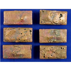 Copper Ingot Lot AZ - Morenci,Greenlee County - 2012aug - Numismatic