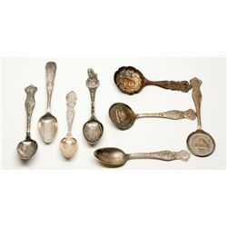 Pan American Exposition Spoons NY - Buffalo,Erie County - 1901 - 2012aug - Worlds Fair