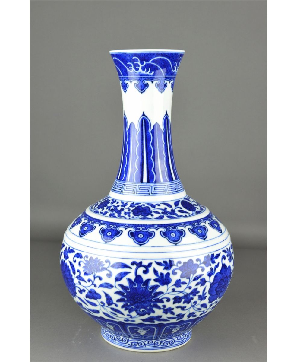 Asian porcelain vase