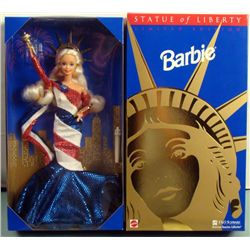 Statue of Liberty Barbie Doll FAO Schwartz Mint in Box