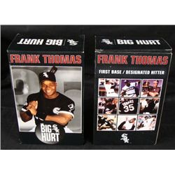 2 Chicago White Sox Frank Thomas Retirement Bobbleheads