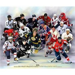 Wishum Gregory NHL Hockey Art Print