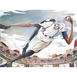 Frank Morrison The Pitch Baseball Art Print