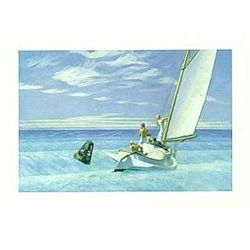 Edward Hopper Ground Swell, 1939 Sailing Art Print