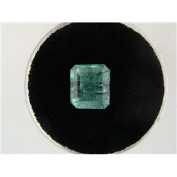 2.41 Carat Bright Glowing Green Emerald Gemstone