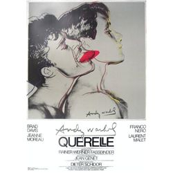 Andy Warhol : Querelle (Grey) Art Print