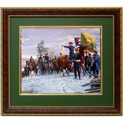 Mort Kustler Civil War Frmd Print Fighting 69th Irish