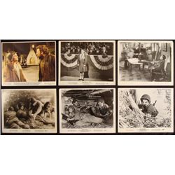 6 Vintage WWII Movie Lobby Card Photos 8 x10