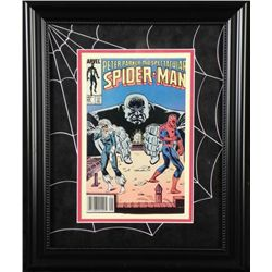 Peter Parker The Spectacular Spider-Man Framed Comic