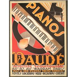 Anon Daude (This Manual) Poster Print Art Piano