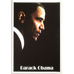 Barack Obama Art Print Hamid Abavista