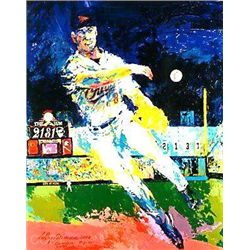Signed Neiman and Autographed Cal Ripken LE Art Print