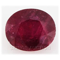 9.10ctw African Ruby Loose Gemstone