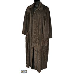 "Christopher Lloyd ""Uncle Fester"" long coat from Addams Family"