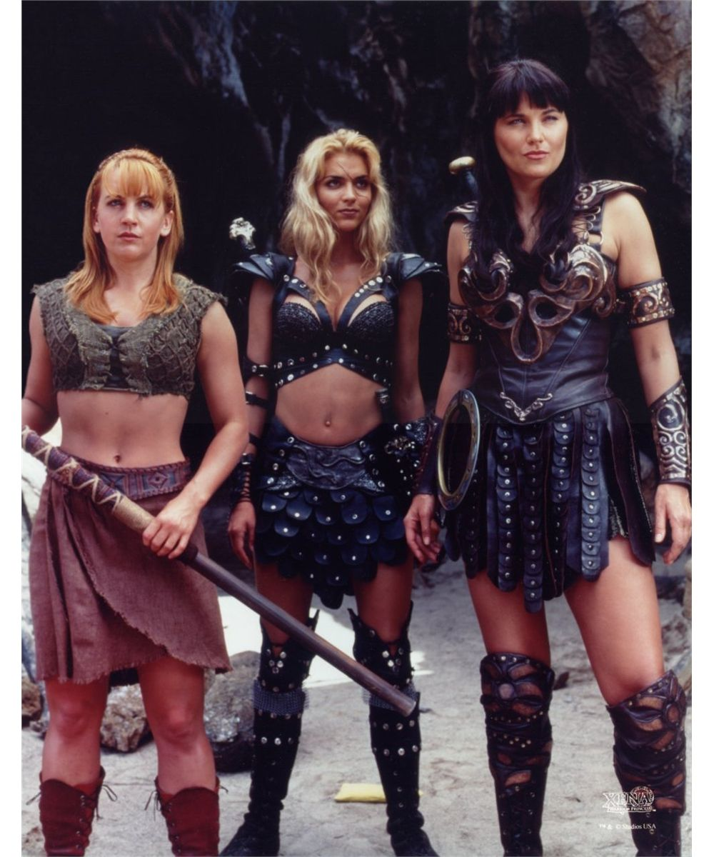 Agree, useful Gabrielle and xena warrior princess
