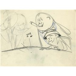 Original storyboard drawing for Finnegan's Flea