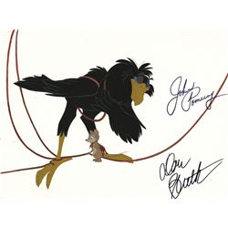 Don Bluth signed original production cel from The Secret Of Nimh