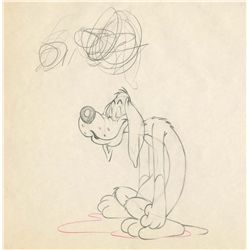 Original production drawing from An Itch in Time