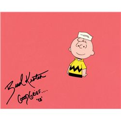 Signed original production cel from It's a Short Summer, Charlie Brown
