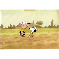 Original production cels and matching Drawings from The Charlie Brown and Snoopy Show