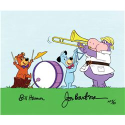 """Huck's Band"" hand-painted artist's proof limited edition cel"