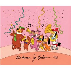 """Yogi Leading the Parade"" hand-painted artist's proof limited edition cel"