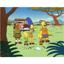 Original production cel from The Simpsons