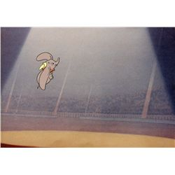 Original production cel of Dumbo from TV commercial