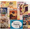 Lot of cereal boxes with Disneyland theme and Fantasia photo book
