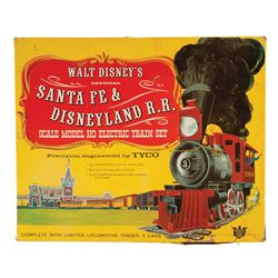 Disney Santa Fe and Disneyland R. R. electric train set