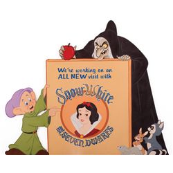 Disneyland Snow White ride original signage