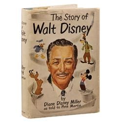 The Story of Walt Disney signed by Walt Disney and many animators