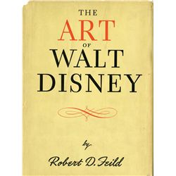 The Art of Walt Disney signed and inscribed by Walt Disney