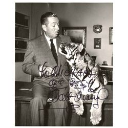 Walt Disney signed photo