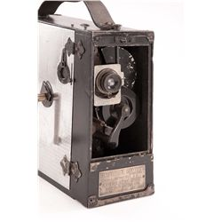 Walt Disney's first professional motion picture camera