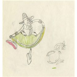 Original production drawing from Mother Goose Melodies