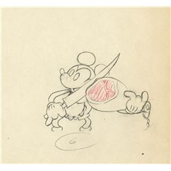 Original production drawing from The Whoopee Party