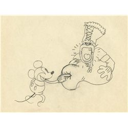 Original production drawing from Trader Mickey