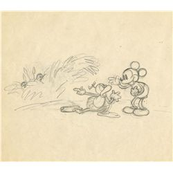 Mickey Mouse & cannibal concept drawing from Trader Mickey