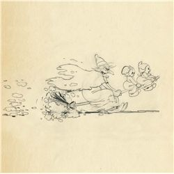 Original production drawing from Babes In The Woods