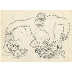 Original production drawing from The Pet Store
