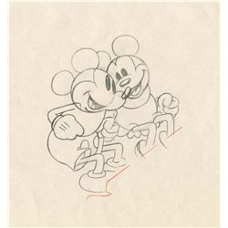 Original production drawing from Puppy Love