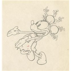 Original production drawing from Mickey's Mellerdrammer