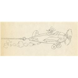 Original production drawing from The Mail Pilot